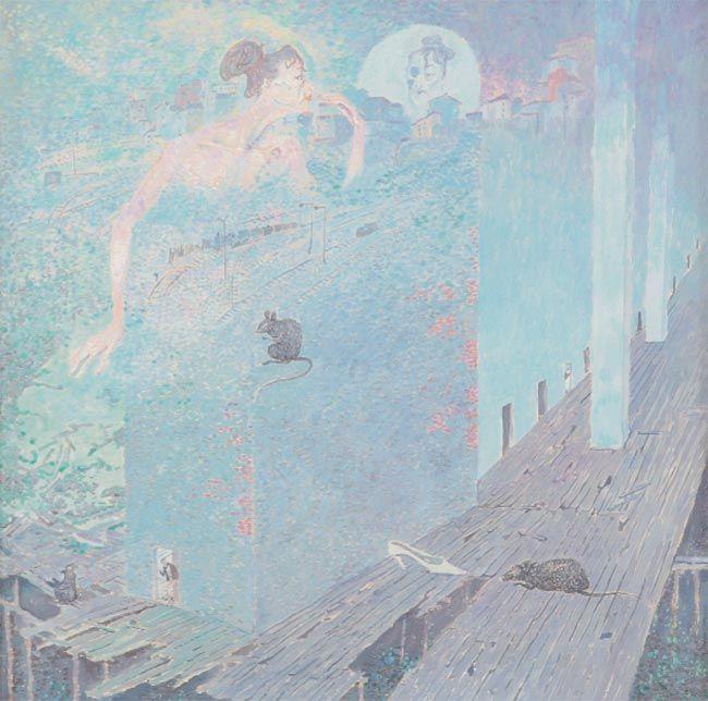 Борис Свешников (1927-1988) - По утрам. 1957. 60х60