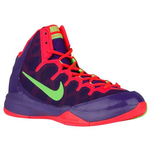 nike womens court shoes,Nike Zoom Without A Doubt - Men's - Basketball -  Shoes - Court Purple/Chrome/Green