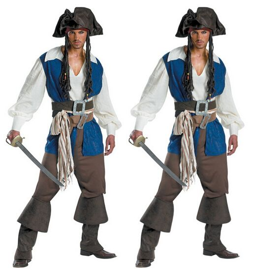 M L XL pirate costume pirate party halloween costumes for men funny costumes christmas party cosplay clothes medieval costume #Affiliate