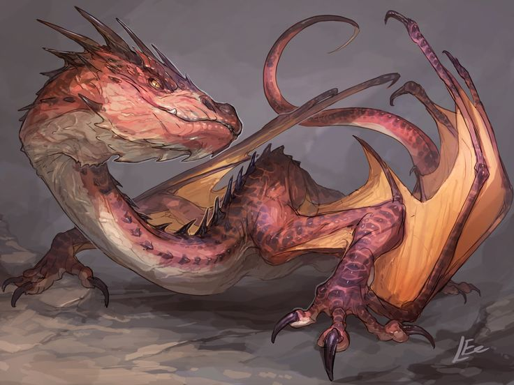 Smaug , Saki Yamamura on ArtStation at https://www.artstation.com/artwork/qZdbL