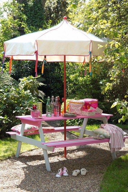 45 Best Picnic Table Ideas Images On Pinterest Painted