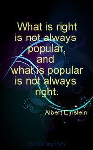 Too true, Albert Einstein.