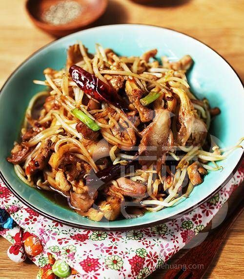 Spicy Chicken & Oyster Mushroom Stir Fry Recipe   Ching He Huang