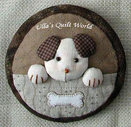 Pikowana torebka królika 2, japoński patchwork