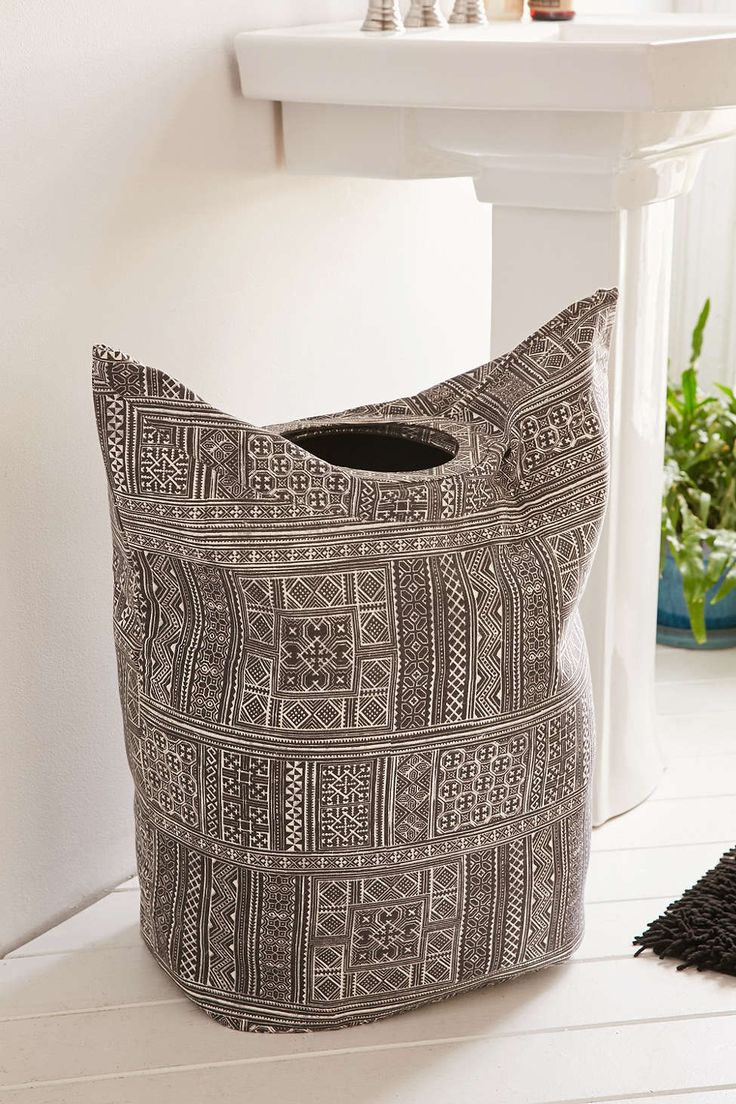 Kali Standing Laundry Bag Hamper Urban Outfitters