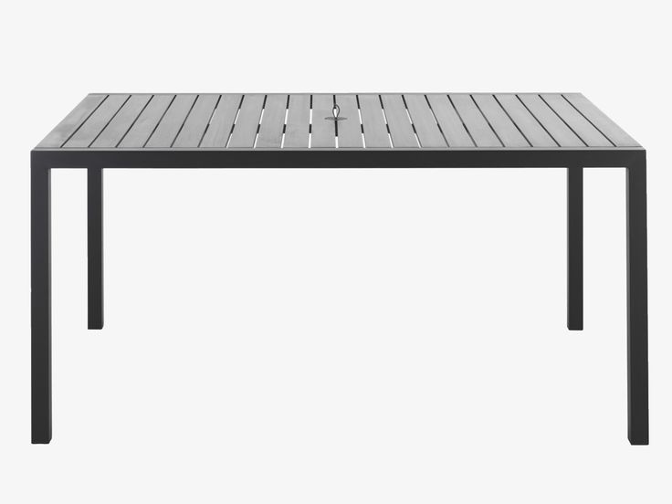 belize black metal black outdoor table habitatuk
