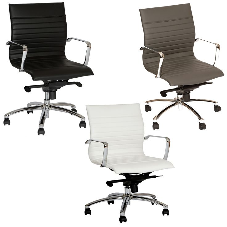 The Classic high back Hannah Office Chair with a multi-functional mechanism in chrome finish with Pu upholstery is a modern classic design . This contemporary design fits well in professional conference rooms, executive offices, and movies.