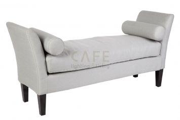 Duke Bed End - Glacier Grey