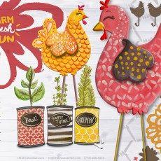 Steph Calvert/Farm Fresh Herb Cans represented by Liz Sanders Agency