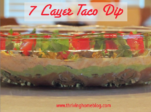 7 Layer Taco Dip (Healthified!)