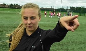 Schoolgirl football referee asks parents to stop verbal abuse - http://footballersfanpage.co.uk/schoolgirl-football-referee-asks-parents-to-stop-verbal-abuse/