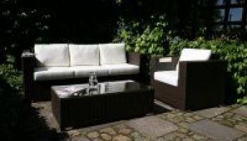 Ibiza - Sedací souprava na zahradu nebo do interiéru, #sedacka, #trojpohovka, #kreslo, stoleček