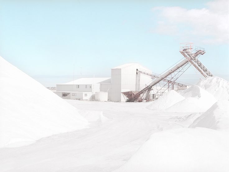 Emma Phillips' photographs of a salt mine in the Nullarbor Plain of Western Australia