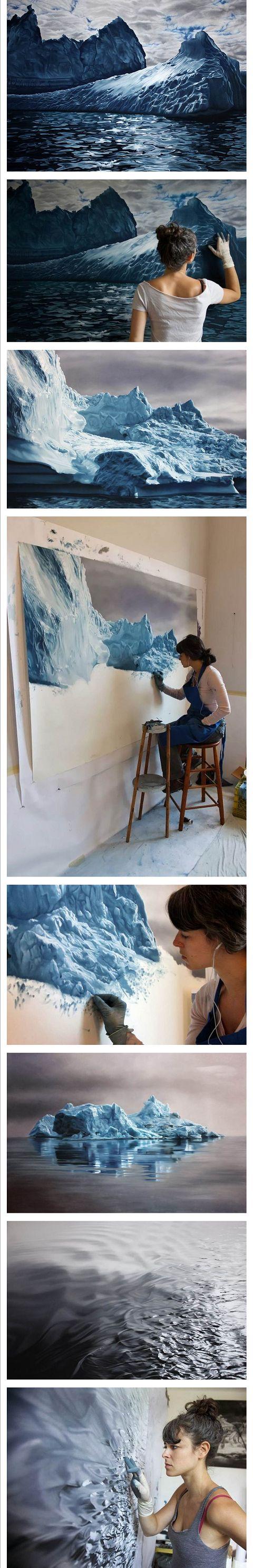 Unbelivable Zaria Forman Artworks