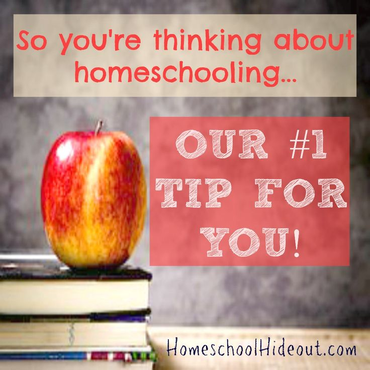 So, You're Thinking About Homeschooling