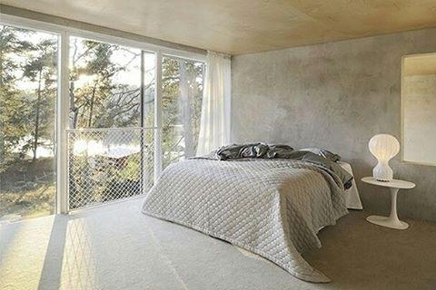 #bedroom #white #grey #minimalist  #decor