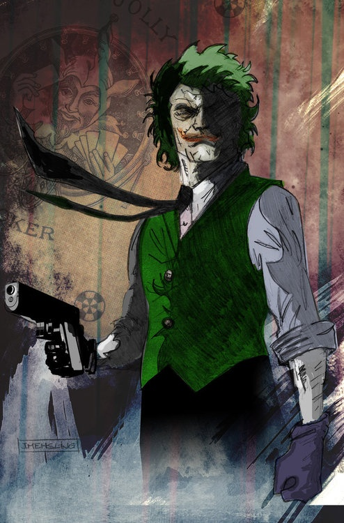 Joker by *CartoonCaveman