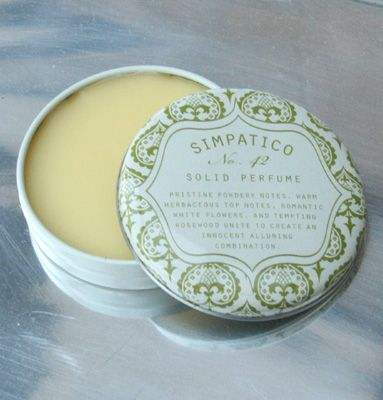 #42 White Flower Solid Perfume