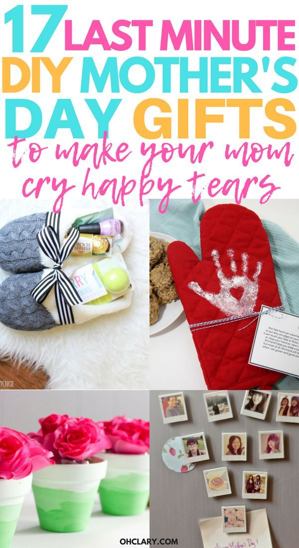 17 Diy Mother S Day Crafts Easy Handmade Mother S Day Gifts