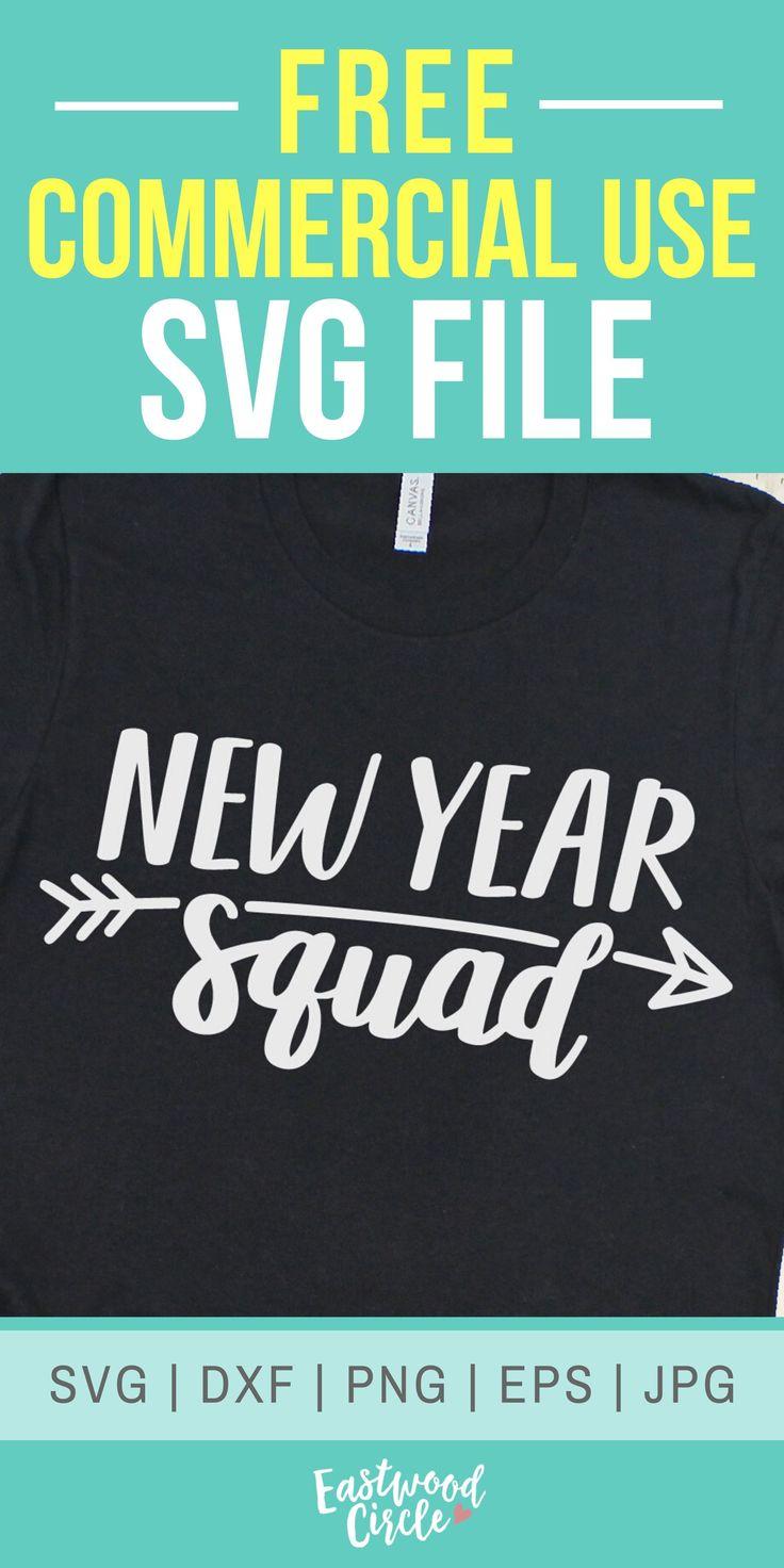 New Year Squad svg, 2020 svg, New Years svg, New Years Eve