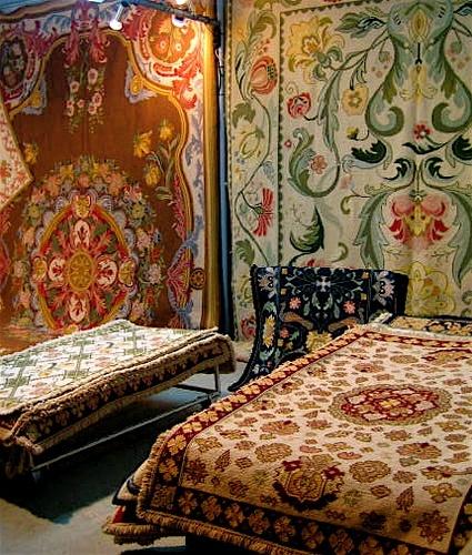 Tapetes de Arraiolos - Traditional rugs from Arraiolos, Alentejo, Portugal