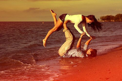 Being crazy in love.......