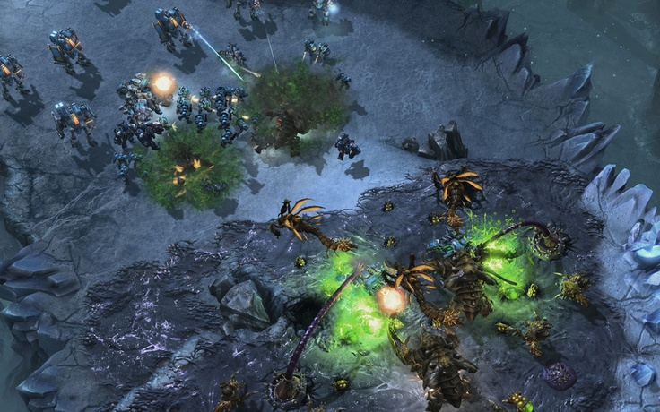 StarCraft 2:Heart of the Swarm Screens