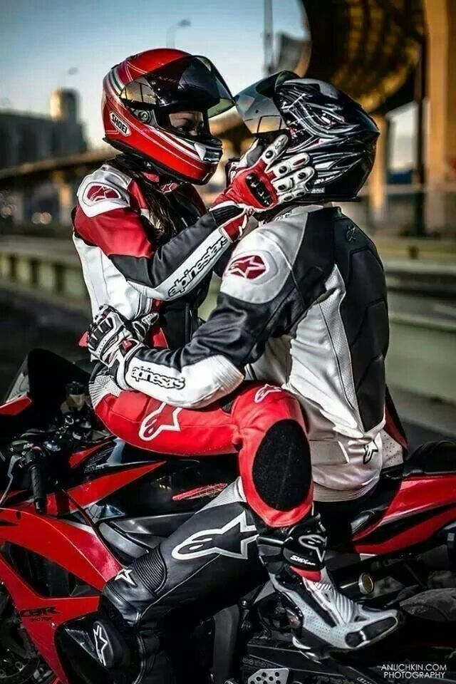Sexy motorcycle gear