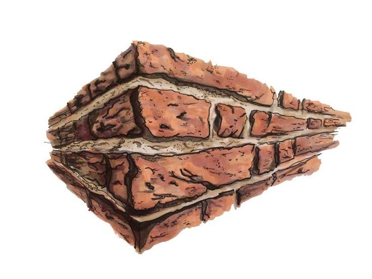 Architecture How to Series: Bricks | Copic-Sketch Markers: R02, R20, R39, BV20, BV25, W2, W4, W6, E04, E13, E15, E43 Multiliners: 0.1, 0.5, 1.0