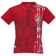 Camiseta Braziline Fluminense Quit TS BAS - Infantil
