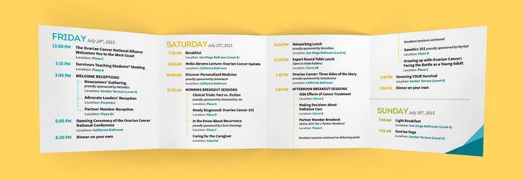 interior design of the Pocket Agenda Corporate Event Planning - event agenda