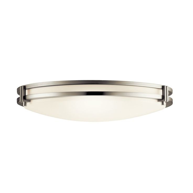 Kichler Lighting 10827 Hastings 2 Light Energy Efficient Flush Mount Ceiling Light