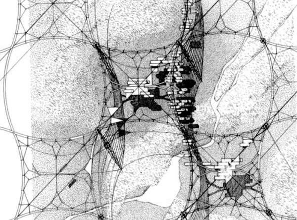 """""""The structure of the city and the house of tomorrow will be fleeting almost something fluttering and whenever possible, inmaterial."""" -Zenetos."""