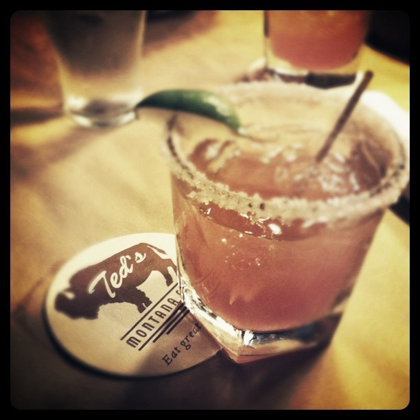 Huckleberry margarita- If i didn't work here, I would be a frequent bar guest haha