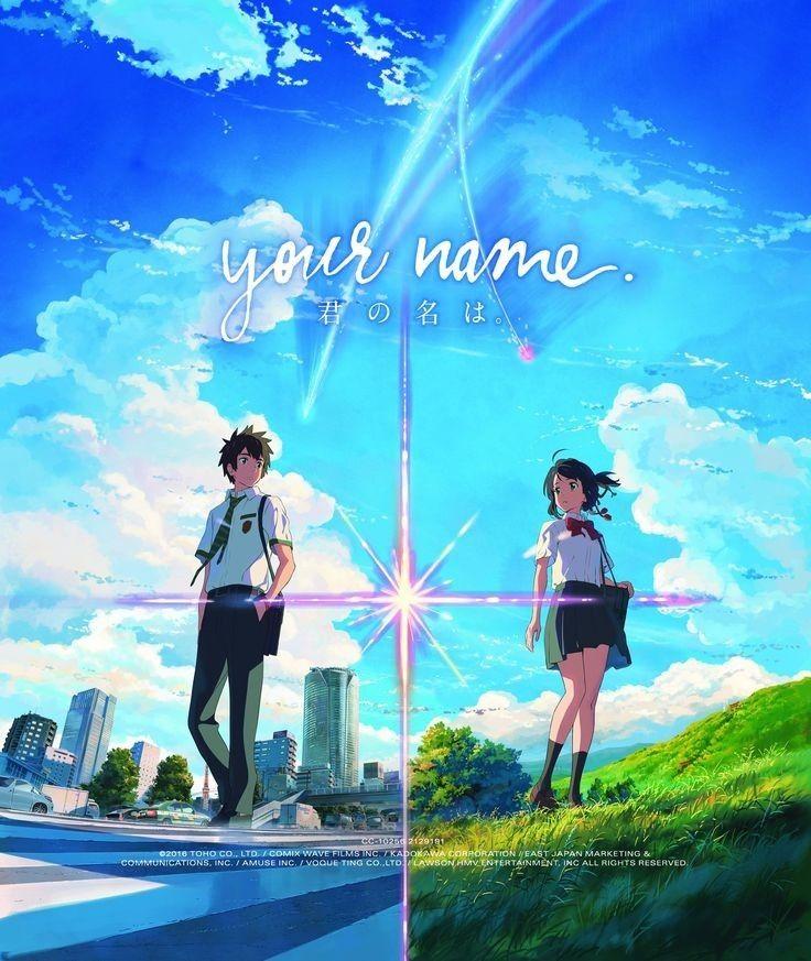 Your Name Llegara Llegara En Dvd Y Blu Ray El Proximo 8 De Noviembre Watch Your Name Kimi No Na Wa Kimi No Na