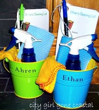 Cleaning Buckets For Kids