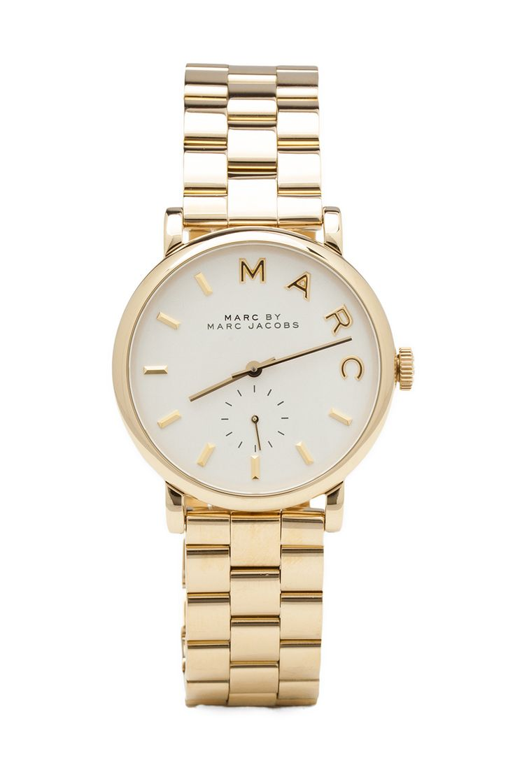 Marc by Marc Jacobs MBM3243 in Gold from REVOLVEclothing