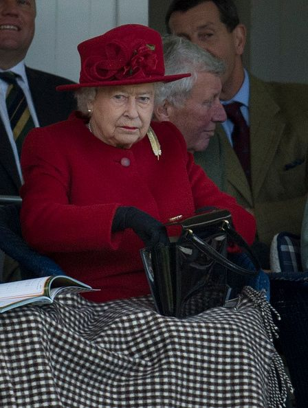 Members of the Royal family Attend The 2015 Braemar Highland Gathering on September 5, 2015 in Braemar, Scotland.