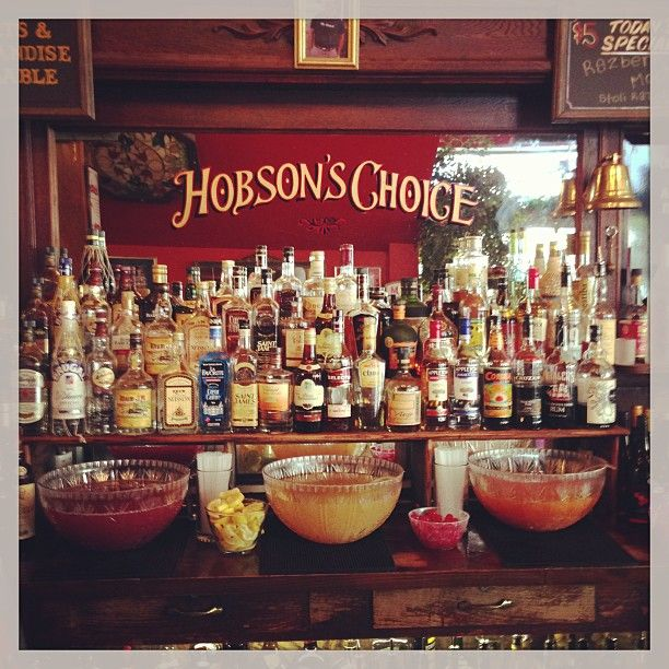 """Hobson's Choice is a favorite """"victorian punch bowl"""" dive bar in the upper haight. epic happy hour deals!"""