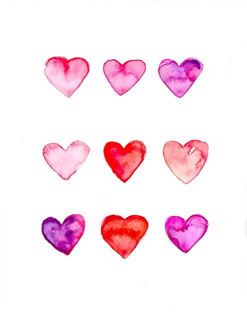 aquarel heart tattoo design - Pesquisa Google