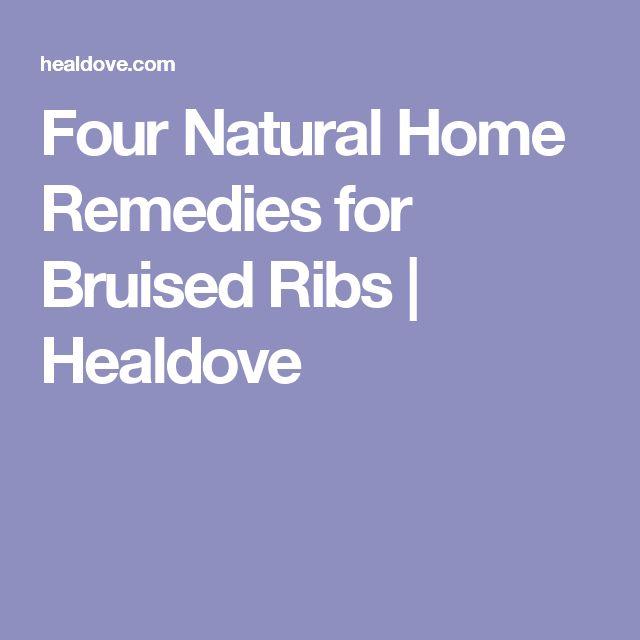 Cracked Ribs Treatment Natural