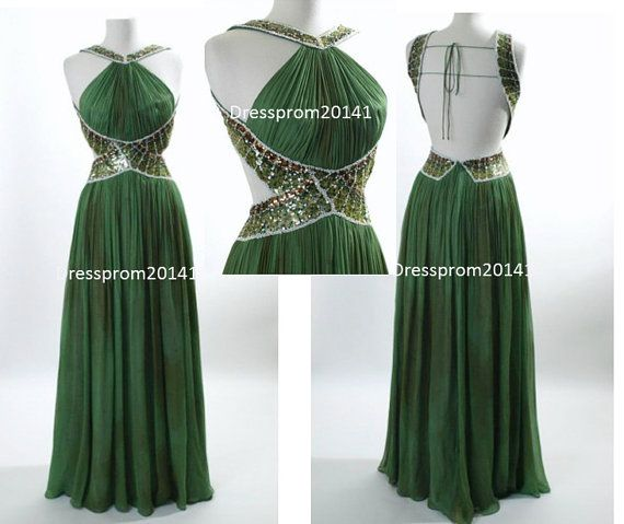 Green prom dresses,Beading dresses Green prom dressesBridal gownsMother's by DressProm20141 on Etsy, $146.00