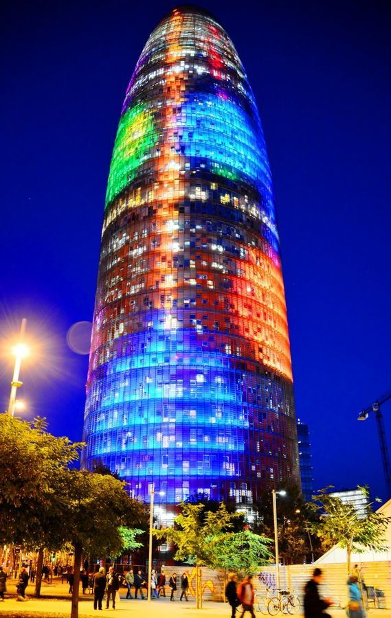 "Jean Nouvel ""Agbar Tower"" – Barcelona, Spain"