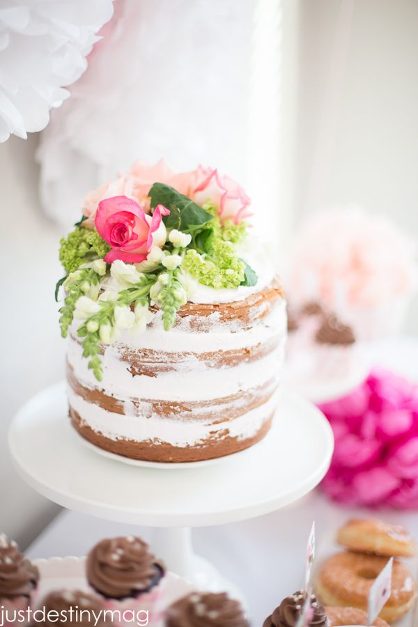 Naked Cake Easter Inspiration Pinterest Online