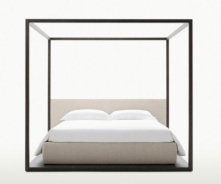 Double beds: Bed Alcova by Maxalto