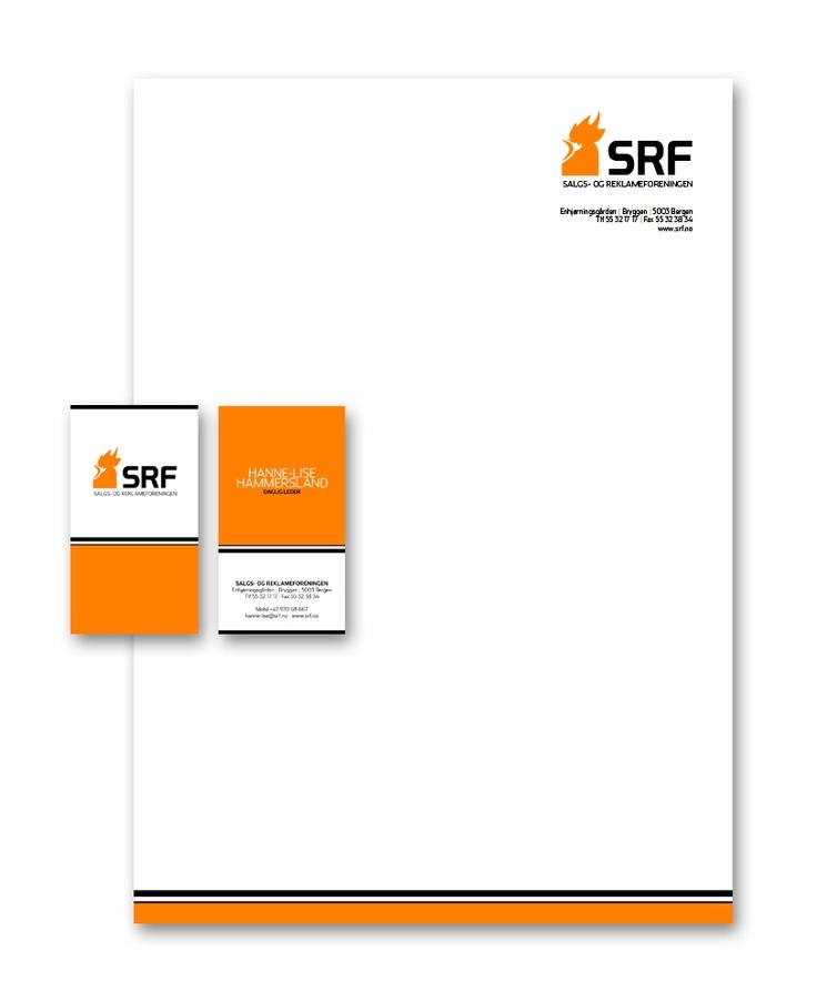 Fornyelse av logo og profil for Salgs- og Reklameforeningen i Bergen.