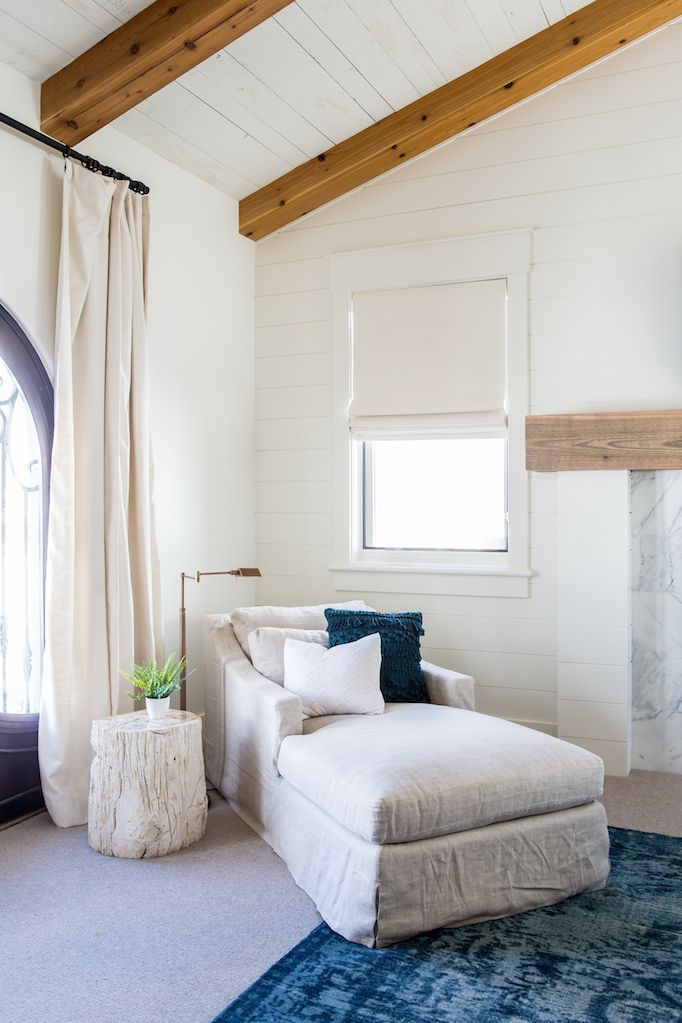 painted shiplap walls and ceiling bedroom redo becki owens heber house project