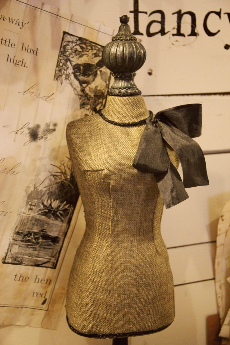 Vintage Inspired Dress Form No. 3 by FleaMarketChick on Etsy, $65.00