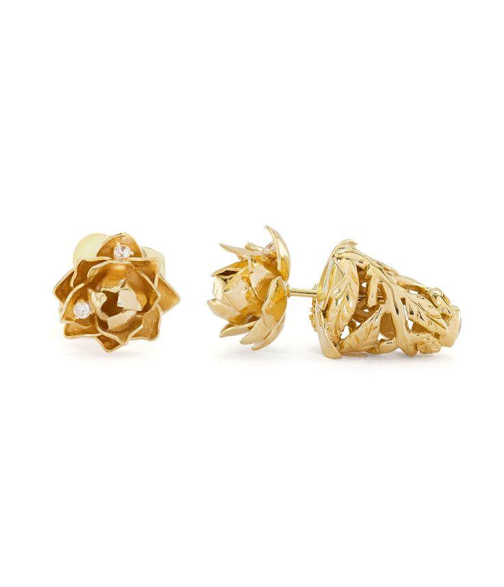 Tulola Lotus Blooms Subeng Gold Dip http://www.shoptulola.com/collections/lotus-blooms-subeng-gold-dip.html #SophieParis