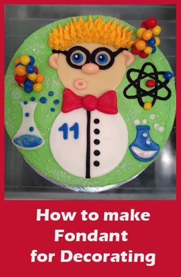 How to make Fondant for decorating